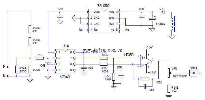 变频器电压检测电路工作原理及故障实例分析图片