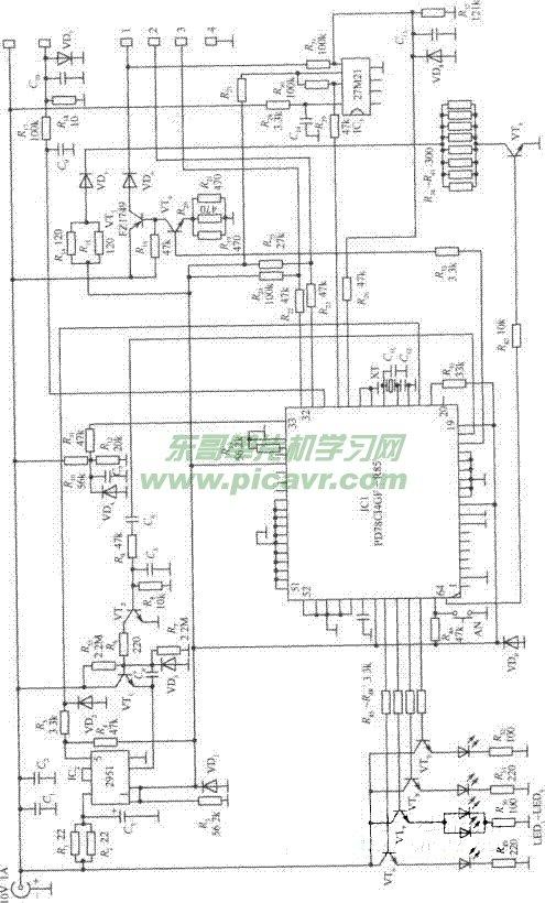 诺基亚手机充电器电路图 232型