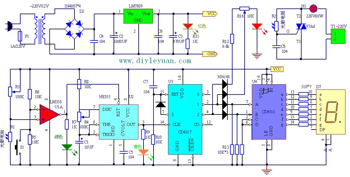 江西省第17届电子设计大赛电路原理图图片