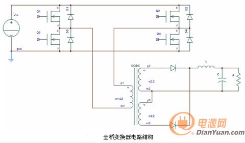 全桥倍压单硅后级电路接线图