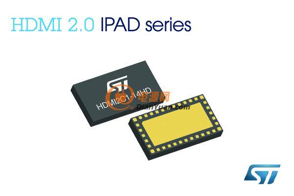 为了保证超高清信号的完整性,最大限度地降低对HDMI线缆质量的依赖,HDMI2C1新系列产品的所有显示数据通道 (DDC, Display Data Channel) 都配有主动上拉 (active pull-up) 功能。此外,芯片内部集成的ESD保护电路功能可提升10GHz带宽的传输性能,实现在不失真的前提下传输高速4K信号。另一方面,目前市场上最新的HDMI芯片采用的是ESD敏感深纳米制造工艺,而HDMI2C1的10V低钳位电压 (clamping voltage) 与30ns快速响应时间可有效抑