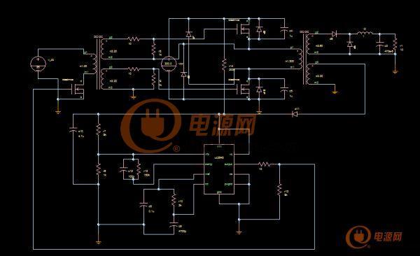 uc3845正激电路图