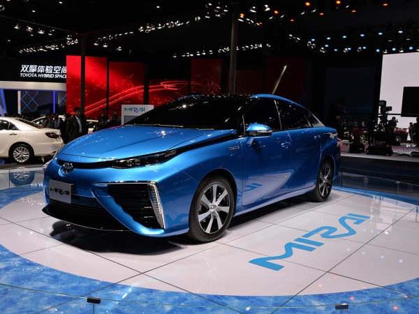 丰田新能源燃料电池车中国首发!