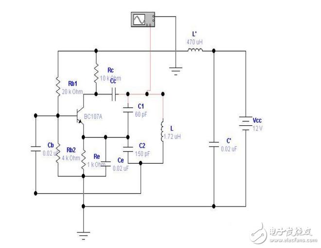 lc正弦波振荡器电路设计图