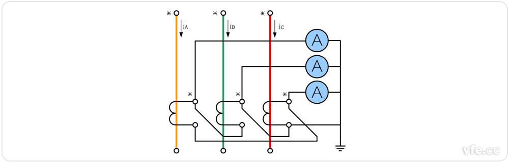 电流互感器接线接法图大全图片