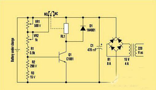 采用单个智能电路的智能电池快速充电器电路设计