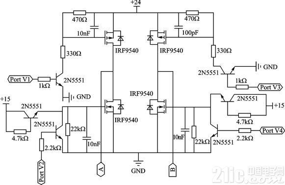 nmos驱动电路