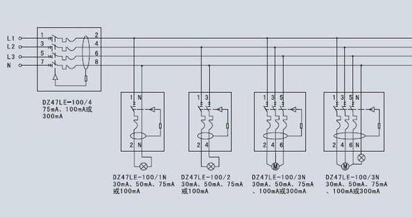 漏电断路器功能原理分析,如何安装?如何接线?