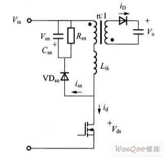 反激变换器的rcd吸收回路设计_电源技术