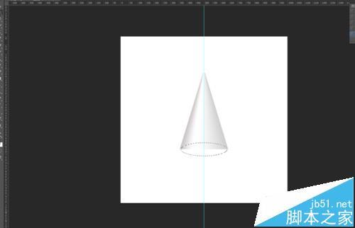 使用ps软件绘制一个圆锥体的图文教程