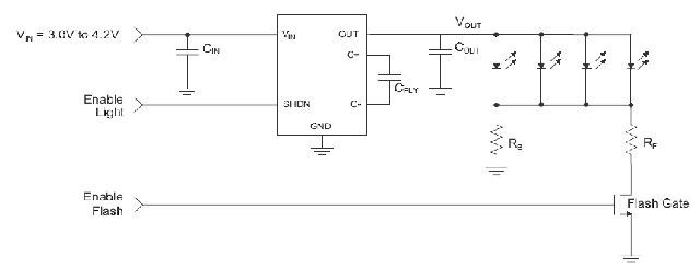 基于cp2130的小电流闪光灯驱动方案_电源技术