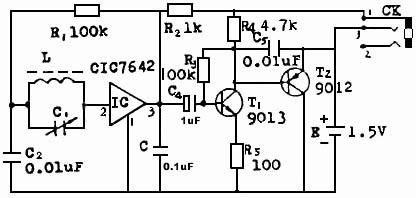 利用简易元器件制作微型收音机