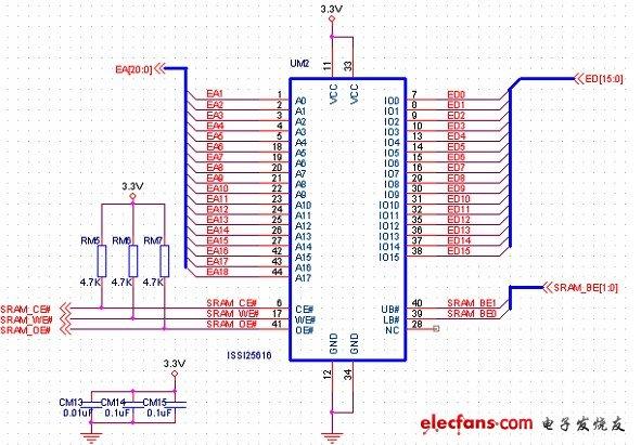 异步SRAM存储器接口电路设计(Altera FPGA开发板)