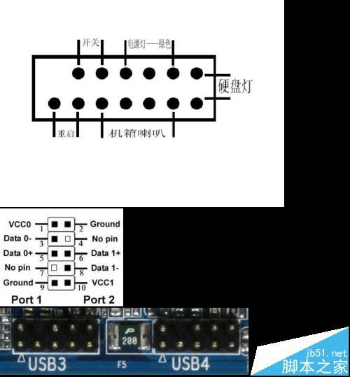 联想主板怎么接线?联想ih61m主板接线图