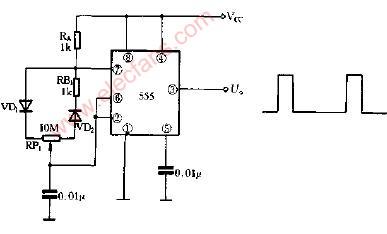 调的多谐振荡器电路图展示图片