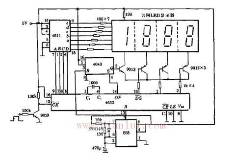 定时计数器电路