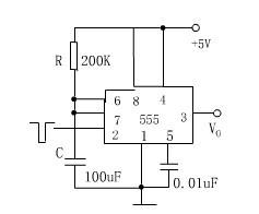 图3 单稳态触发器