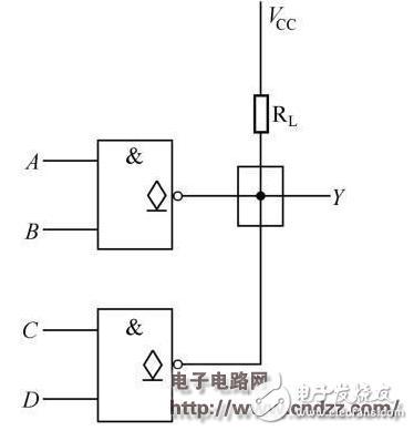 设计应用 数电模电基础知识之搞懂数电技术_模拟技术   oc门的电路