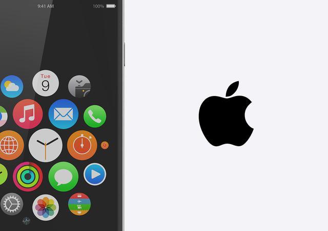 四边无边框完美摄像头不再凸出iphone7渲染效果图曝光