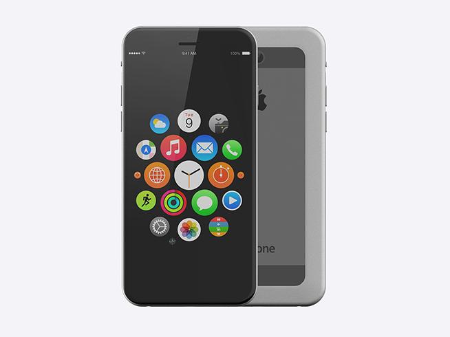 iphone 7最新渲染图曝光 这才是真正无边框 _手机资讯