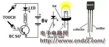 三极管放大电路最简单的三个电路