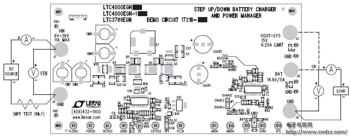 电池运作结构原理图