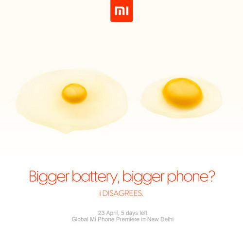 小米新宣传海报曝光 为印度发布会预热