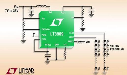 液晶背光灯管接线图