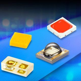 OMC电子设计展上展示新款彩色LED、HP UV和IR LED