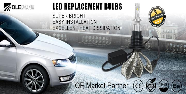 "OLEDONE进军中国车用LED市场 对外宣布品牌中文名""旗登"""