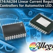 Allegro公司推出用于驱动汽车LED阵列的可调线性电流稳压器