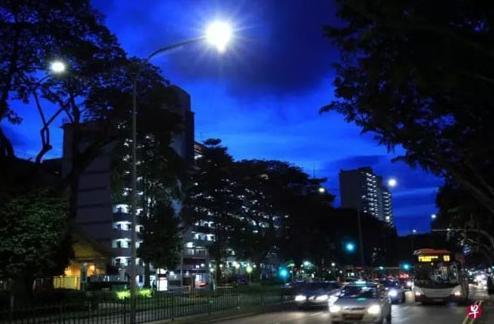 未来五年新加坡计划更换全岛路灯 替换灯智能LED更节能