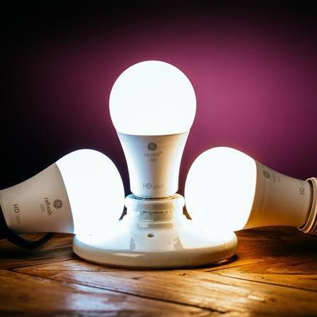 GE发布三款高清LED灯泡 使用寿命13.7年