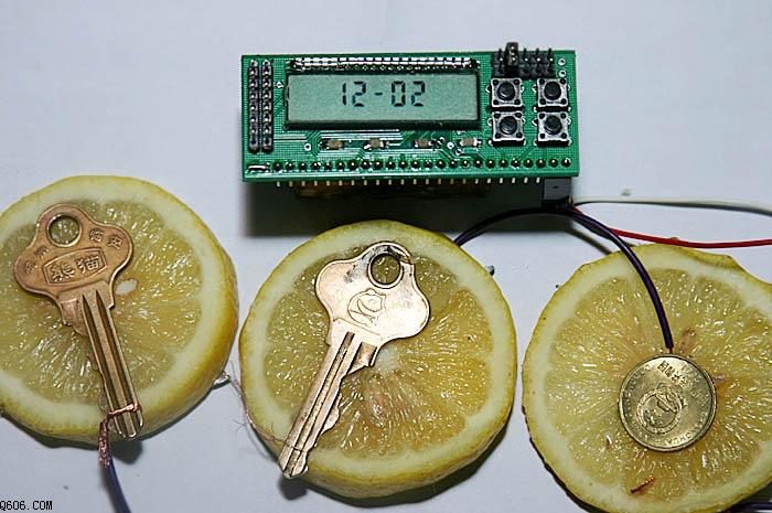 很酷的水果电池制作