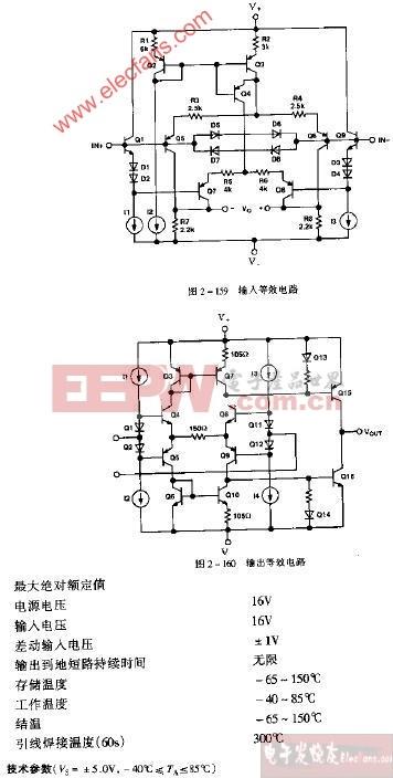 op279单电源遥控应变计信号调节电路图