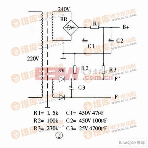 制作电子管缓冲级电路