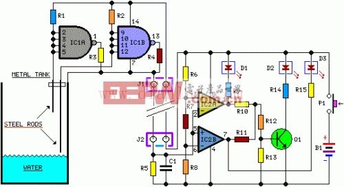 电路 电路图 电子 户型 户型图 平面图 设计 素材 原理图 500_272