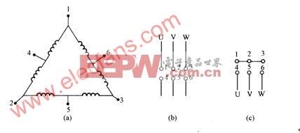 6级54槽2路并联接线图