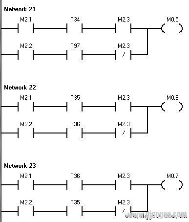 其控制接线图如下图所示: 根据plc外部接线图可以写出各电气元件符号