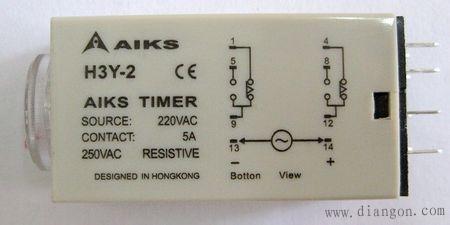 时间继电器的接线方法及接线图 -解决方案-华强电子网