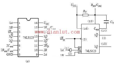 74ls123引脚管功能图
