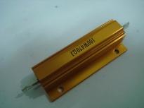 供应100瓦8欧柜台现货 黄金铝壳电阻RX24-100W8ΩJ 铝壳刹车电阻