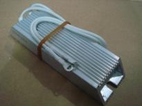 供应变频器专用刹车电阻100W50RJ现货供应 变频器专用铝壳刹车电阻100W50RJ