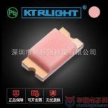 供应【0603粉红0.4厚度缺角】贴片LED0603粉色 LED发光二极