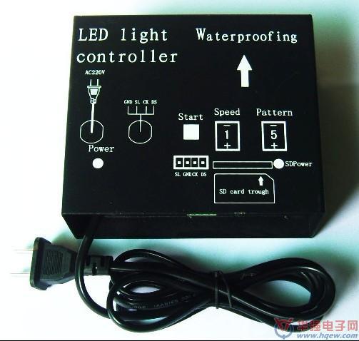 供应LED发光字灯串 贴片模组 点光源 全彩控制器