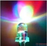 供应3mm七彩慢闪LED F3红绿蓝 自动闪烁 缓慢变幻