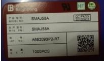 供应SMAJ58A一级代理,绝对原装环保公司现货