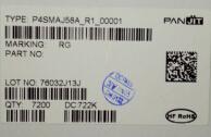 供应P4SMAJ58A强茂代理,长期供应原装无铅