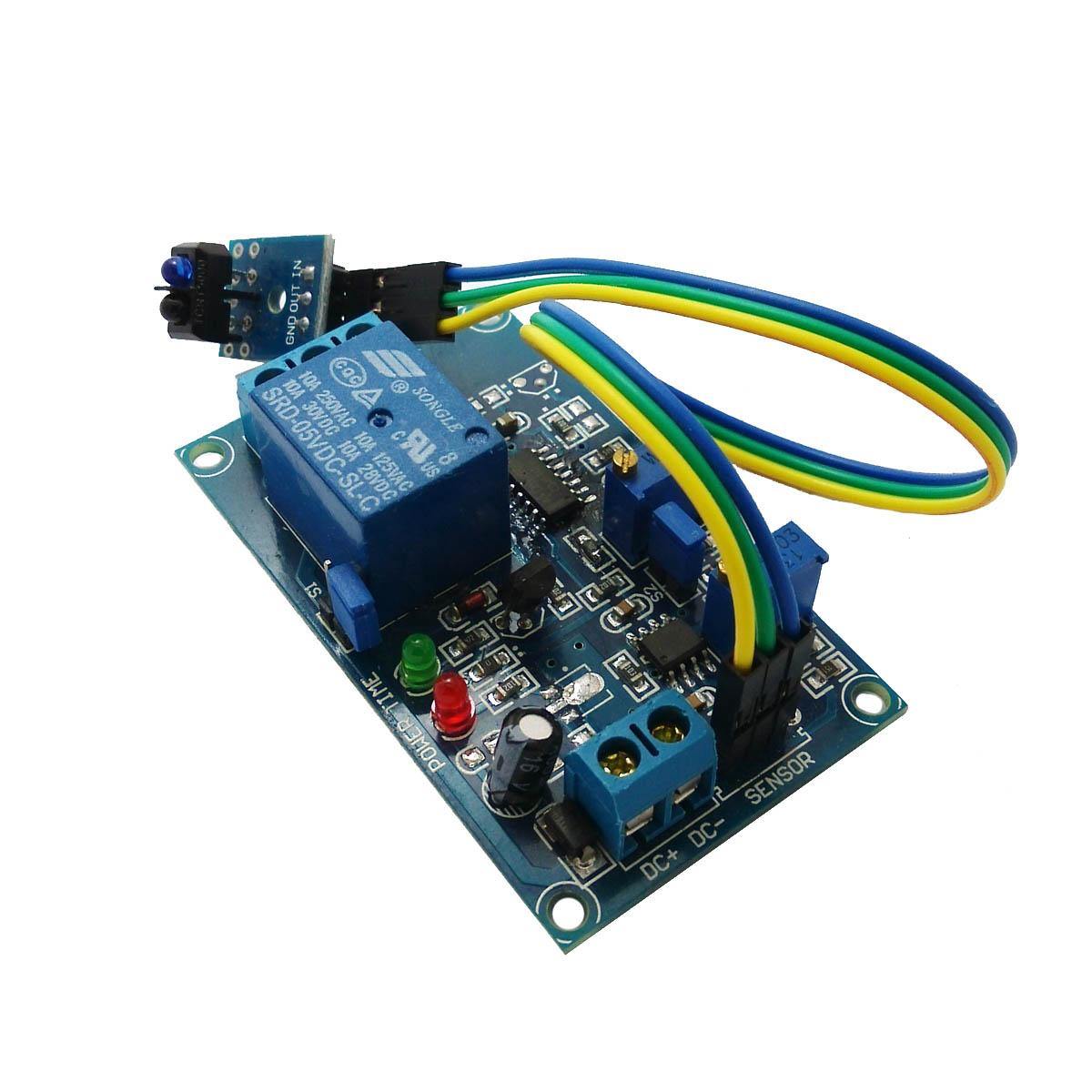 供应20901 5v tcrt5000延时继电器模块 (有反射触发延时)小板带