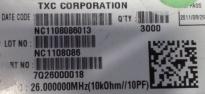 供应7Q26000018 7Q26000018  26MHz    10PF